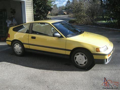 si鑒e auto sport black honda crx si 1989