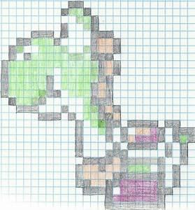 Yoshi Pixel by ashred29 on DeviantArt