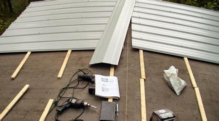 toiture bac acier isolé prix d une toiture bac acier co 251 t moyen tarif d installation