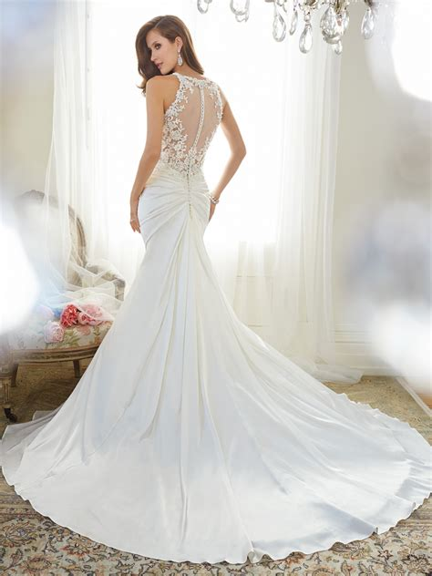 wedding dress for fit and flare wedding dress with shoulder straps
