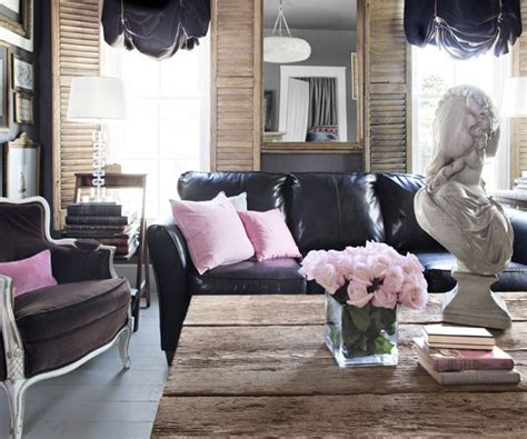 Black Leather Living Room Ideas by How To Decorate A Living Room With A Black Leather Sofa