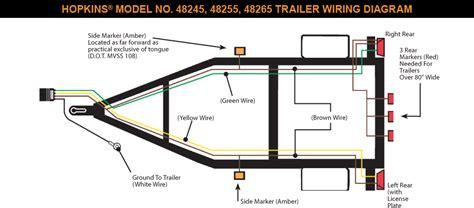 7 Pin Trailer Wiring Diagram by Trailer Wiring Diagram 7 Pin