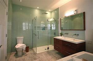 stunning salle de bains contemporaine gallery awesome With photo salle de bain contemporaine
