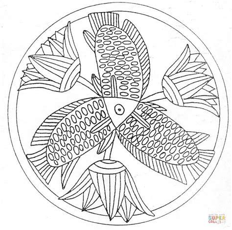 Mandalas Für Experten by Fisk Mandala M 229 Larbok Gratis M 229 Larbilder Att Skriva Ut