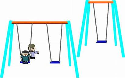 Swing Clipart Swings Playground Single Double Clip