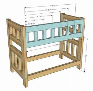 Doll Bunk Bed Woodworking Plans - WoodShop Plans