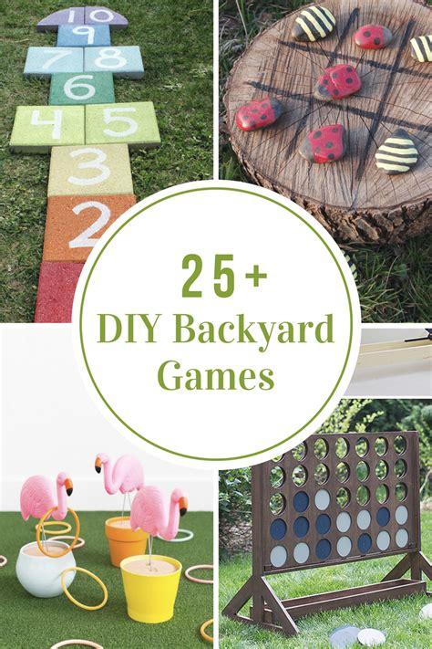 Diy Backyard Games  The Idea Room