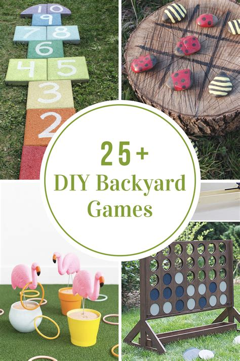 diy backyard games  idea room