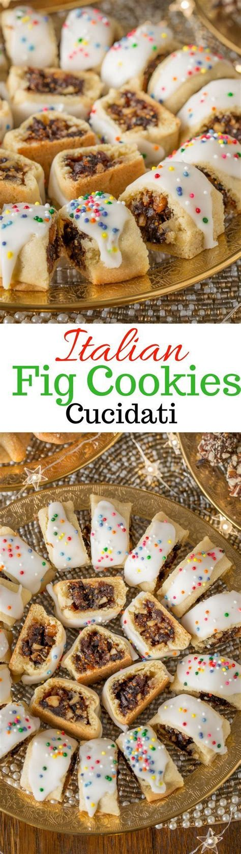 italian fig cookies cucidati recipe italian fig