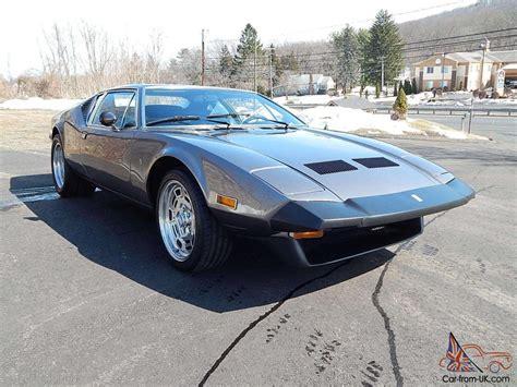 1974 De Tomaso Pantera 18k Miles