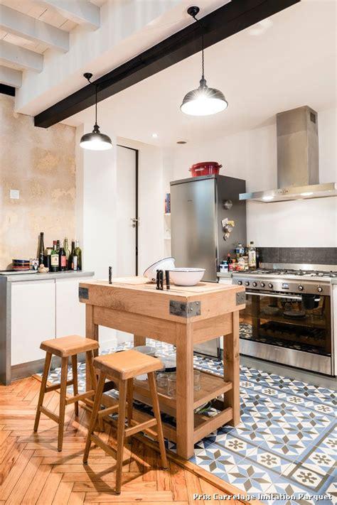 carrelage cuisine imitation parquet prix carrelage imitation parquet with industriel salle de