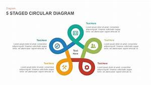 3 To 6 Stages Circular Diagram Powerpoint Template And