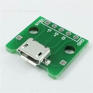 Usb Auf Micro Usb : micro usb buchse auf dil adapter platine ebay ~ Eleganceandgraceweddings.com Haus und Dekorationen
