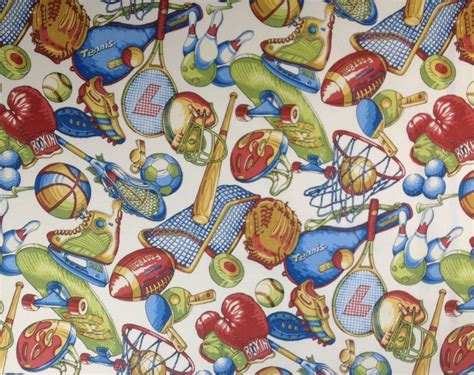 themed fabric by the yard covington sports nut all sports theme furniture fabric by 9082
