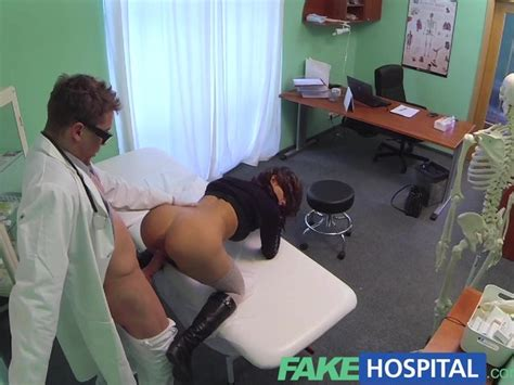 fake hospital sexual treatment turns gorgeous busty patient moans of pain into pleasure free