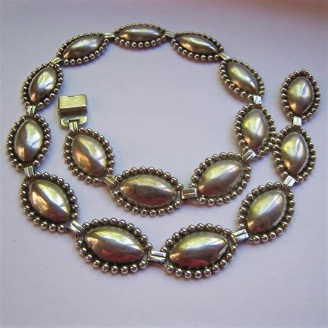 British money, especially the pound as the basic unit of. Sterling Silver 925 Concho Style Necklace Circa 1940-50's ...