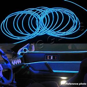 Neon Led 12v : for acura honda neon 12v blue led electroluminescent el wire flexible glow rope ebay ~ Medecine-chirurgie-esthetiques.com Avis de Voitures