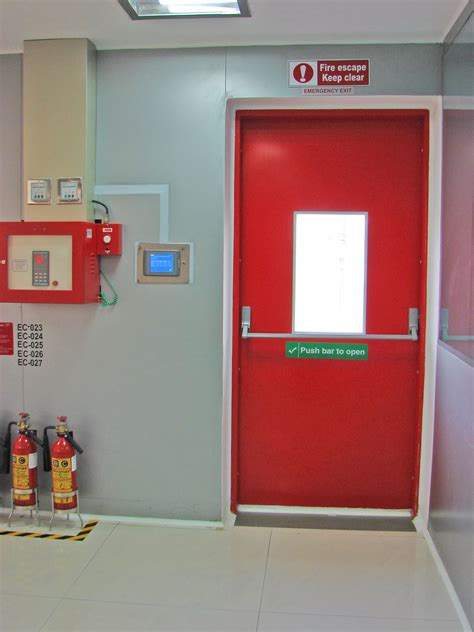 Fire Rated Doors  Gmp Partitions