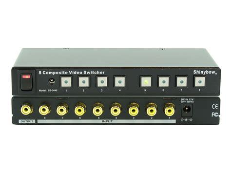 Harga Switcher Rca 8x1 8 1 8 port composite rca switcher selector