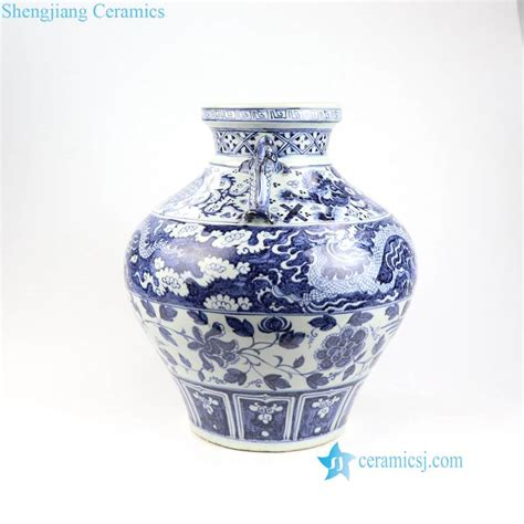 Ming Vase Replica by Rzni04 China Antique Ming Dynasty Reproduction Porcelain