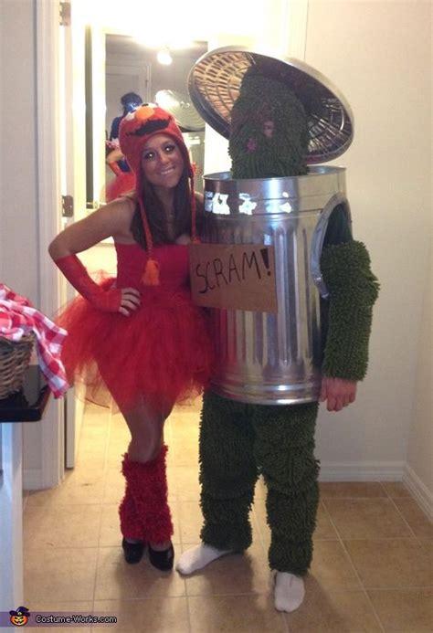 elmo  oscar halloween costume contest  costume
