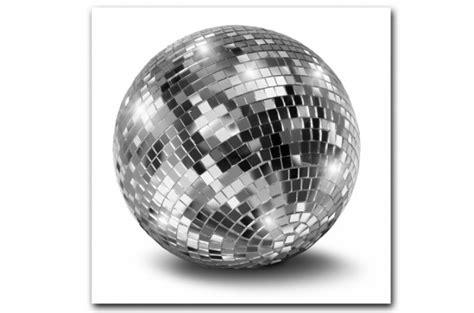 tableau disco argent 233 boule 224 facettes 80x80 cm tableaux musique et disco pas cher