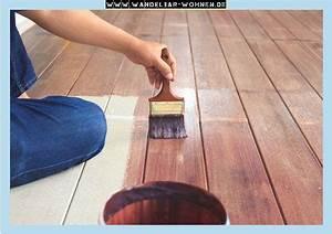 Fußboden Streichen Holz : fu boden streichen mit kreidefarbe wandelbar wohnen ~ Sanjose-hotels-ca.com Haus und Dekorationen