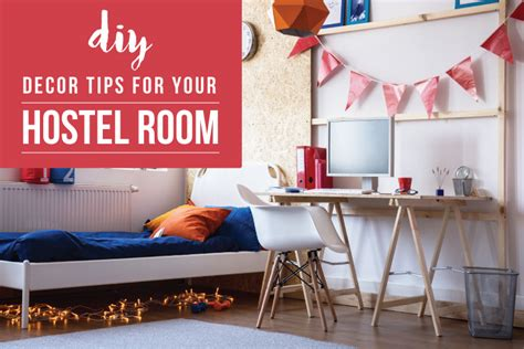 easy budget friendly diy hostel room decoration ideas