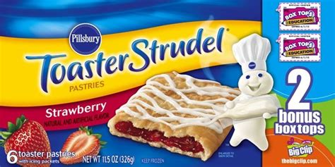 Off Pillsbury Toaster Strudel!