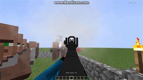 Minecraft Review Mod Vic's Modern Warfare ปืนโครตเหมือน