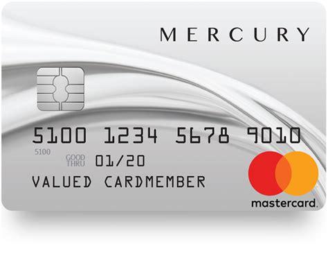 creditshop introduces  mercury mastercard