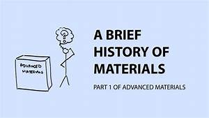 Advanced Materials Part 1  A Brief History Of Materials