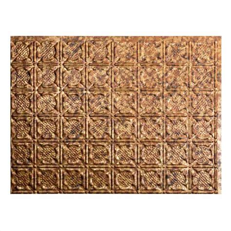shop fasade cracked copper faux fasade backsplash traditional 6 in cracked copper