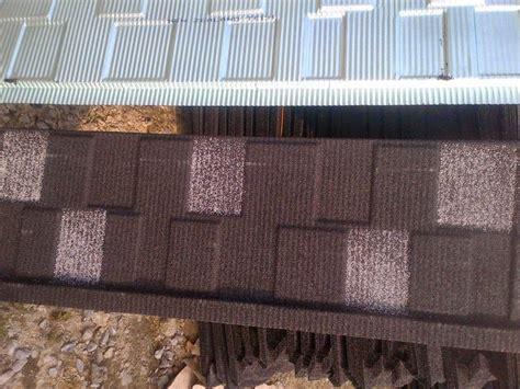 coated step tiles roofing sheets roof tiles in sangotedo lekki ajah properties nigeria