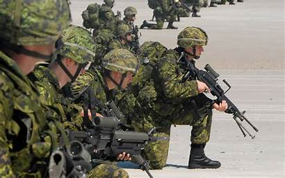 Canadian Army Military Soldiers Infantry Beach Wallpapers