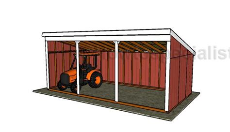 loafing shed plans mini barn shed roof plans howtospecialist how to build