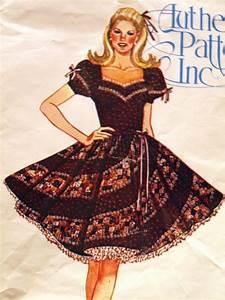 Square Dance Dress W  Swirl Skirt 6