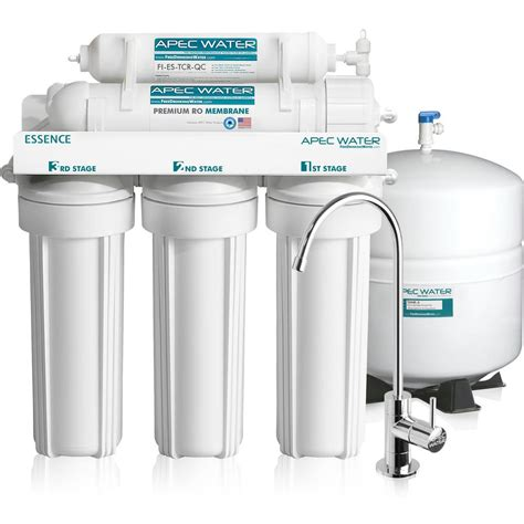 best under sink reverse osmosis system apec water systems essence premium quality 5 stage under