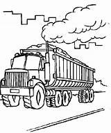 Coal Coloring Pages Transporter Carrying Outline Truck Cement Factory Getdrawings Place Printable Getcolorings Transpor sketch template