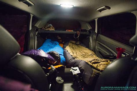 chambre a air 2cv dormir dans une voiture ou dehors en laponie maniacs