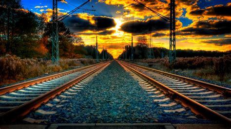 hd train tracks wallpaper  images