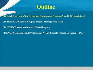 Ppt   Southern Oscillation  Enso  Cycle