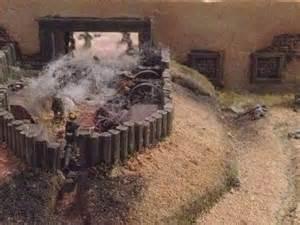 Alamo Battle Diorama