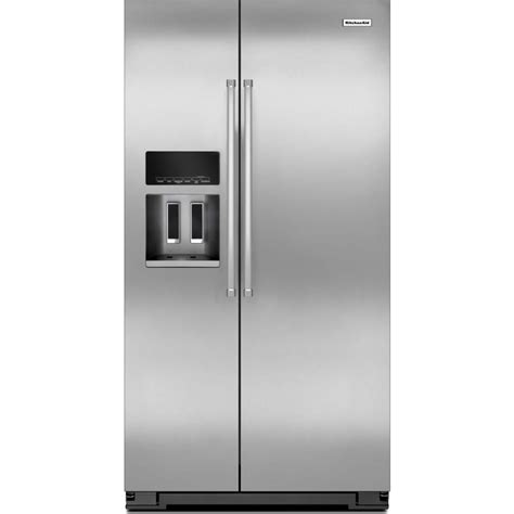 Counter Depth Refrigerator Width 35 by Krsc500ess Counter Depth Kitchenaid