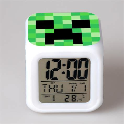 best digital timing light novelty color digital alarm clock gorgeous and colorful