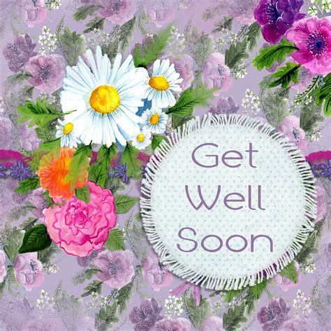 45 Inspiring Get Well Soon Quotes and Wishes with Greeting ...