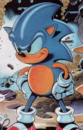 sonic  hedgehog sonic  comic sonic news network