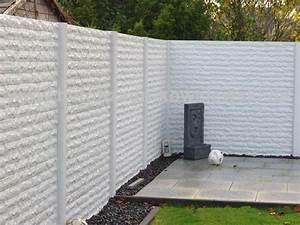 Gartenzaun Höhe Zum Nachbarn : betonzaun standard premium betonzaeune kowalewski ~ Lizthompson.info Haus und Dekorationen