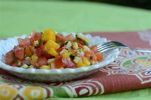 Grilled Corn And Mango Salsa