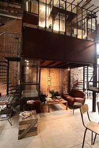Interieur Style Industriel : 25 best restaurant bar design ideas on pinterest restaurant bar restaurant design and ~ Melissatoandfro.com Idées de Décoration